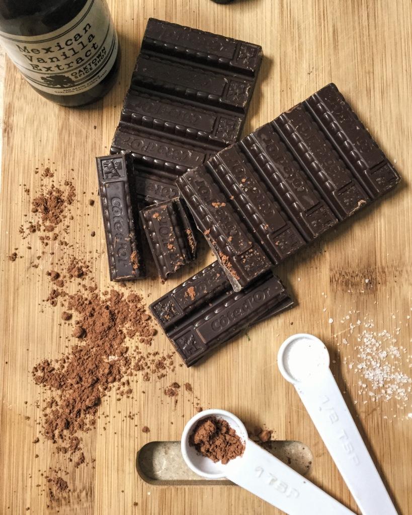belgian chocolate pudding