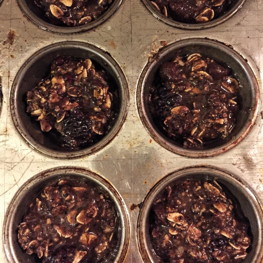 spent grain muffins