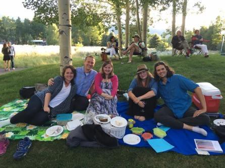 Picnicking in Aspen