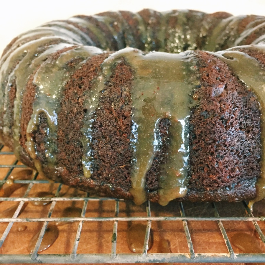 spent grain pumpkin cake