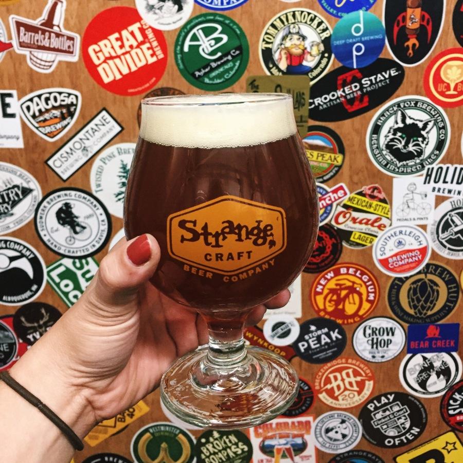 strange craft beer