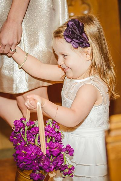 The cutest flower girl